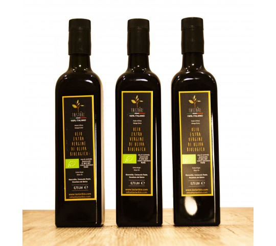 3 BOTTLES of BIOLOGIC Extra Virgin Olive Oil