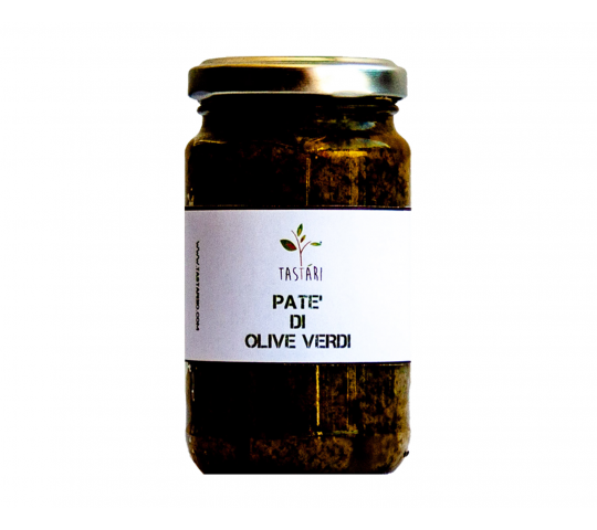 PATE' OF GREEN OLIVES