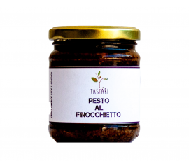 PESTO WITH WILD FENNEL